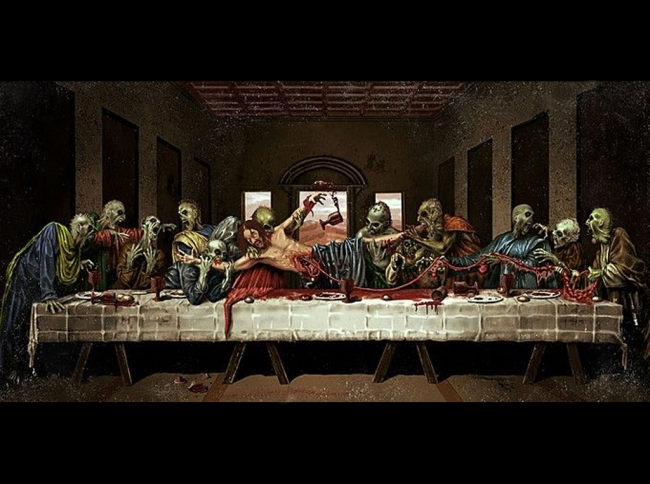 Last supper Zombie style