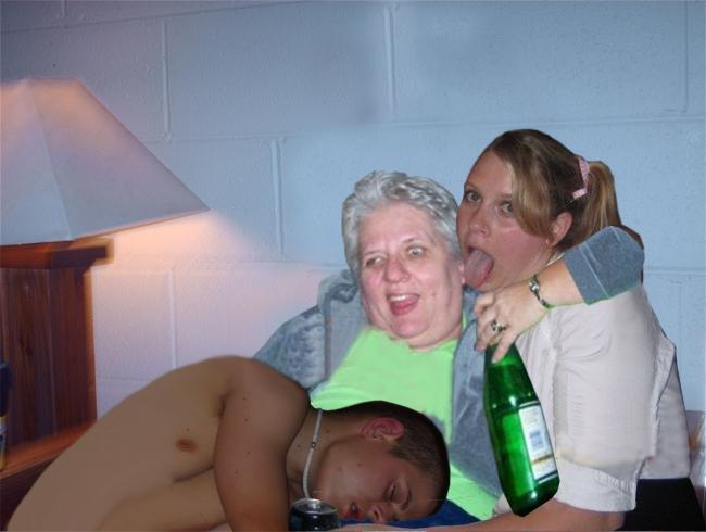 Drunken Mess - Picture