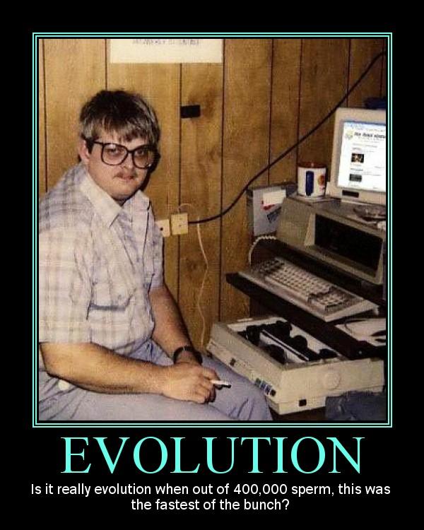 Evolution Demotivator