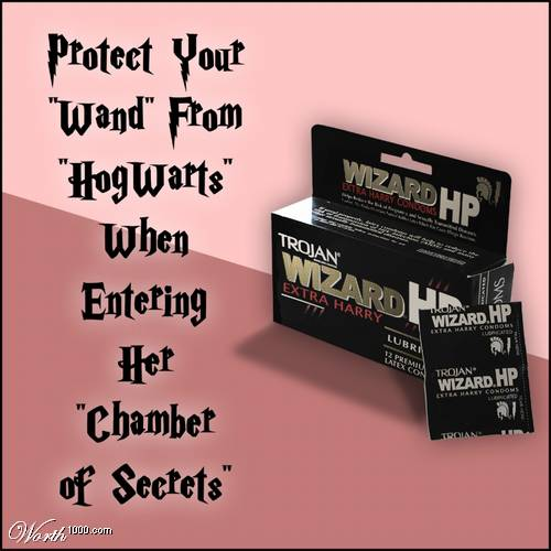 for those harry potter fans out there actually getting laid
