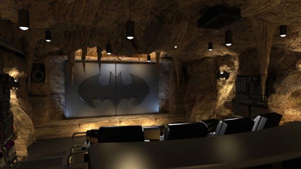 Bat Cave Home Theatre