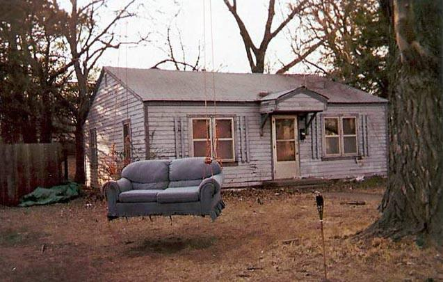 And you thought that love seat was trash.