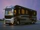 enormous luxury bus, basically an apartment