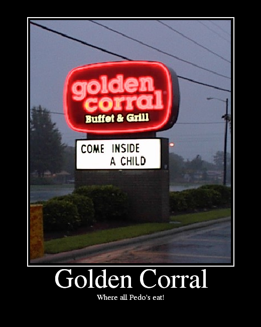 Where all Pedo's eat!