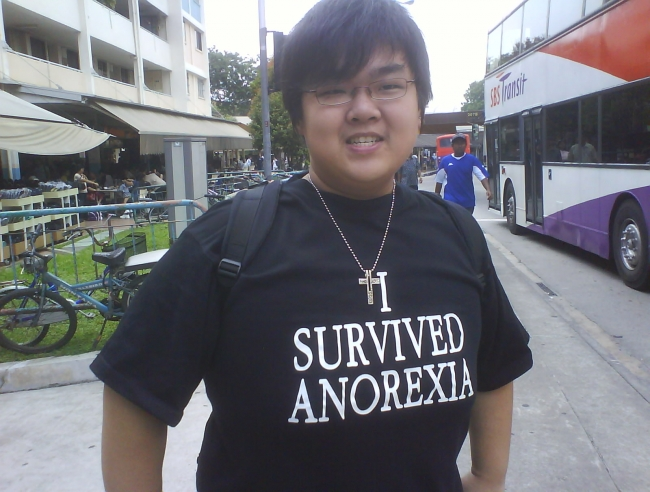 asian fat boy survived it!