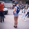 Funny pictures of people celebrating their love for jean shorts, aka jorts.