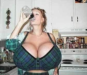 fucking huge titties