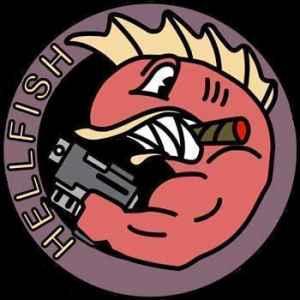 "The Simpson's ""Hellfish"" logo"