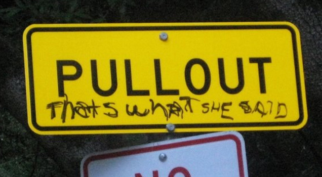 Hilarious ways of vandalizing everyday things to make everyday things more interesting.