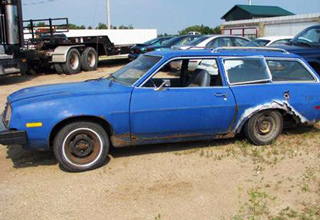 You have to see this to believe it...Yes, It IS A Ford Pinto.