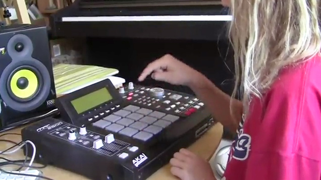 10yo shows Her MPC Skills