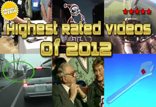 The ten highest rated eBaum's World videos featured in the year 2012.