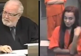 Penelope Soto, who was arrested for possession of Xanax, got 30 days in jail after she gave the finger to Miami-Dade Circuit Judge Jorge Rodriguez-Chomat.