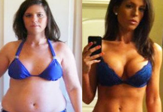 An inspiring gallery of going from flab to fab!