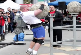 Know your limits when lifting heavy objects! OUCH!