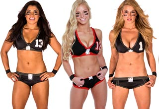 <p>Now known as the Legends Football League, the once Lingerie Football League offers some eye candy and competitive football!</p>