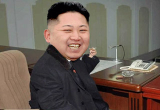 <p>North Korea's glorious leader is even more fabulous when he's animated!</p>