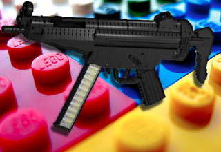 <p>Lego versions of both real and fictional guns.</p>