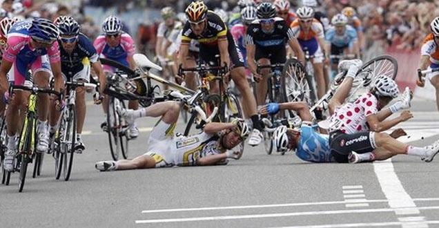 Image result for bike race crash