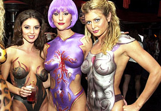 You don't always need clothes to have a great Halloween Costume.