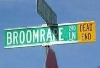 A collection of funny, odd, and obscenely named streets.
