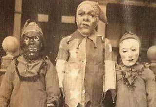 It seems like Halloween was a lot creepier back then...