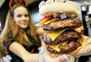 Looking to having a heart attack? Eat some of these burgers...