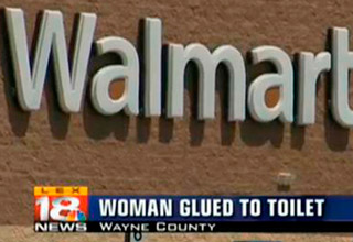 Of course these things happened at Walmart.