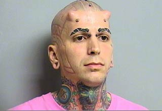 A collection of weird and unusual mugshots seen around the web......