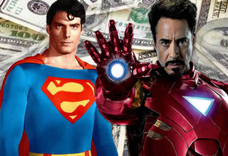 These actors who made big bucks as a Superhero.