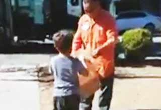 "Autism Speaks received an email from Robin Newberger about a very special gift her 5-year-old son Daniel recieved from their trash collector Manuel. The video titled ""The Gift"" is now going viral and Manuel, the trash collector's good deed is going to be recognized by his company, E.J. Harrison & Son"