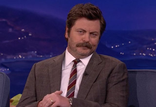 Parks and Rec star tells explains how to really be a man.