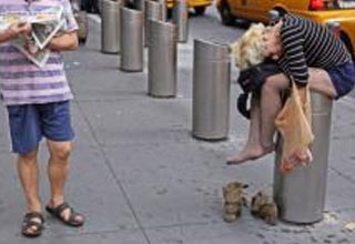 31 strange and interesting people on the streets of New York.