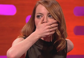 Self-confessed Spice Girls mega-fan Emma Stone gets pranked in a funny but kind of cruel way..
