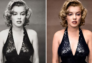 Take a brief glimpse into the past with these black and white historical photos restored in color.