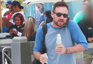 Mike sneaks into Opening Day at Dodger Stadium and shows you how to get into any game... for free!