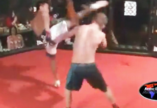 During an amateur MMA fight, Mike Pantangco was completely dominating his opponent, but instead of finishing his opponent off, he tapped out.