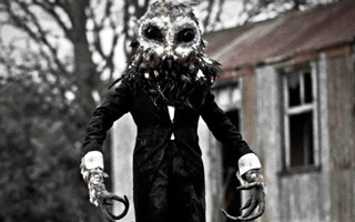 Every day visitors arrive, from urban explorers to photographers, at the abandoned St. Mary's Children Hospital.  Today they will get a surprise visit from Owlman.