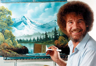 A Tribute to the Awesomeness of Bob Ross.