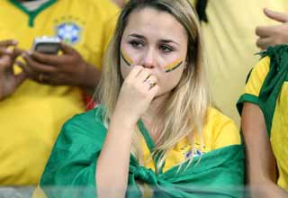 Brazil lost the World Cup, and fans did not handle it well.