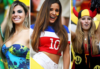Germany won the 2014 Wold Cup! But who won for the hottest fans?
