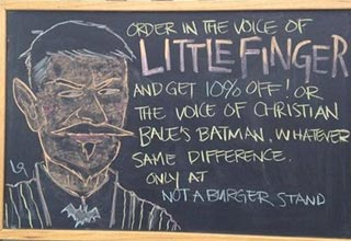 The Los Angeles restaurant Not a Burger Stand has found a fun way to offer discounts to its customers