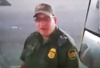 A truck driver who was stopped at an apparent Border Patrol checkpoint and asked if he was a U.S. citizen is becoming an Internet star after he asked the Border Patrol agent a question of his own...