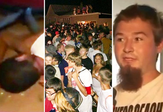 A guy threw a rave for 2,000 people in his backyard in West Michigan.