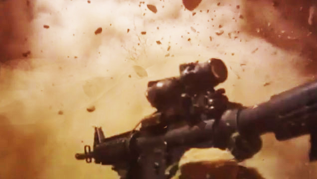 First Person View Of Ied Explosion - Explosions Video -8990