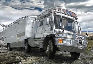 Meet the worlds most extravagant off-road truck: KiraVan.