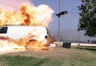 A collection of Gifs that were probably produced by Michael Bay, directed by Michael Bay, and special guest appearances by Michael Bay.