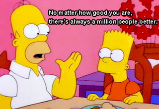 The Simpsons have some of the funniest writing on tv, and have provided us with many memorable quotes through the years. You can count on there being a Simpsons quote for every situation in life...
