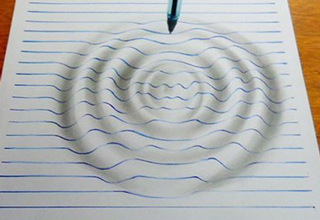 It's like your notebook paper just came alive.