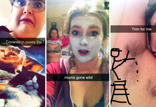 Are these snapchats wins or fails?  You be the judge.